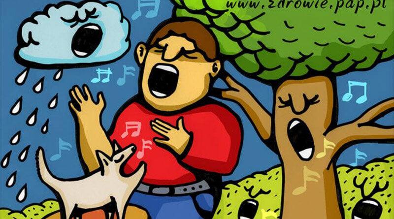 śpiew to zdrowie