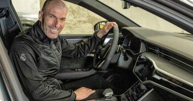 Zinadine Zidane - Audi RS 6 Avant