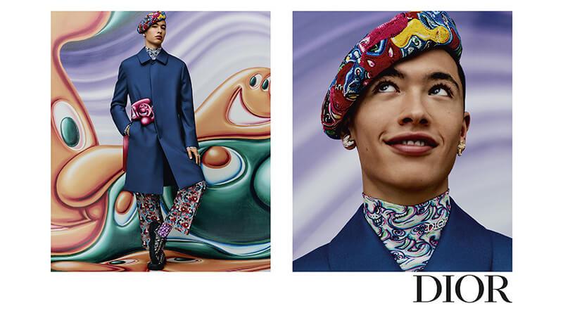 Dior kolekcja męska jesień 2021